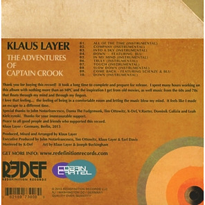 layer,klaus - the adventures of captain crook (Back)