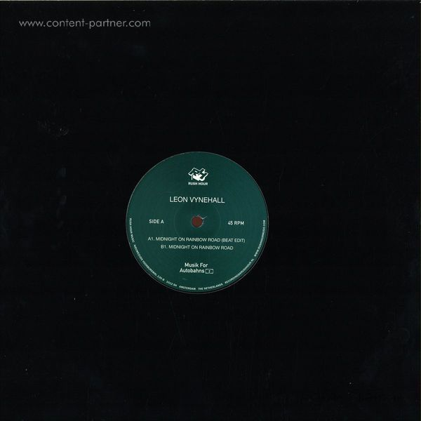 leon vynehall - midnight on rainbox (Back)