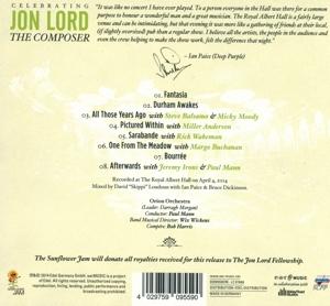 lord,jon/deep purple & friends - celebrating jon lord-the composer (Back)