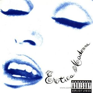 madonna - Erotica  (2X180 gr Vinyl) re-issue