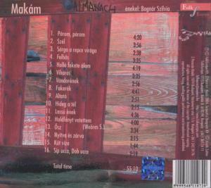 makam - almanach (Back)