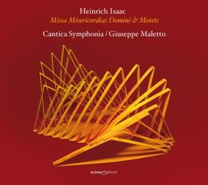 maletto,g./cantica symphonia - missa misericordias domini & motetten