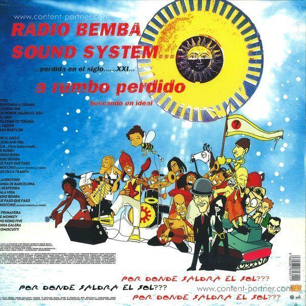 manu chao - radio bemba sound system (+bonus cd) (Back)