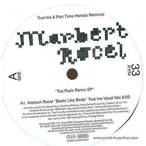 marbert rocel - the pack remix ep