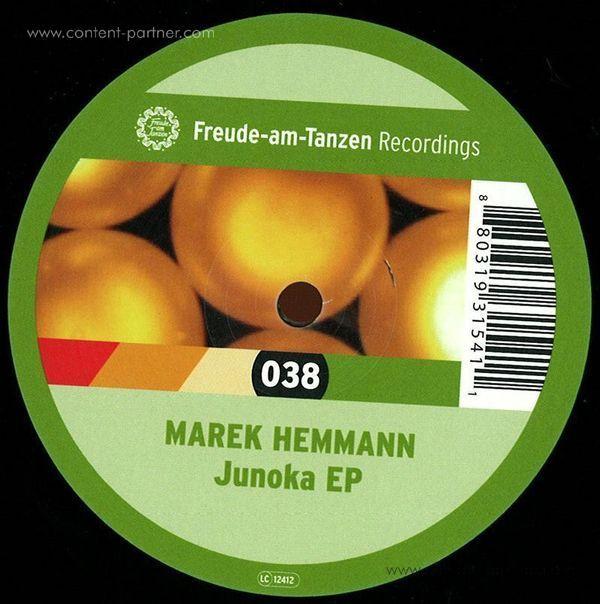 marek hemmann - junoka ep (Back)