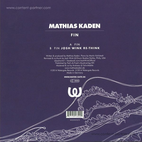 mathias kaden - fin, josh wink re-think (Back)