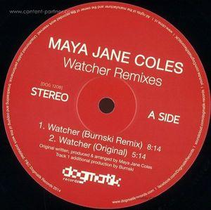 maya jane coles - watcher (remixes) BACK IN