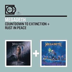 megadeth - 2 for 1: countdown to extinction/rust in