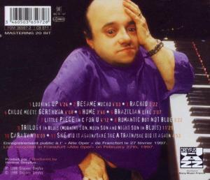michel petrucciani - solo-live in germany (Back)