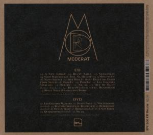 moderat - moderat (dvd + cd) (Back)