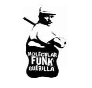 molecular funk guerilla t-shirt schwarz- - baseball-player-logo l