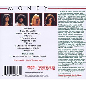 money - first investment (lim.collector's edit.) (Back)