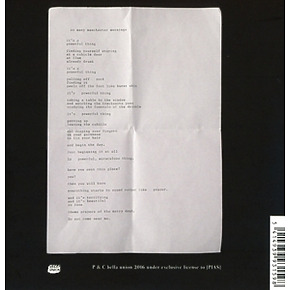 money - suicide songs (Back)