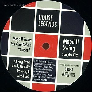 mood 2 swing - house legends (sampler two)
