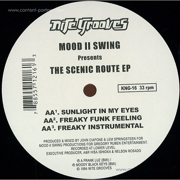 mood 2 swing - scenic route ep (Back)
