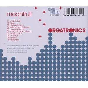 moonfruit - orgatronics (Back)
