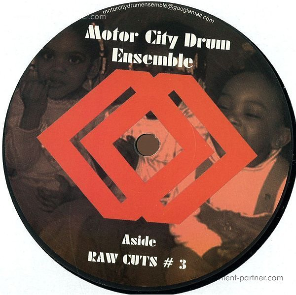motor city drum ensemble - raw cuts 3 & 4 (repressed)