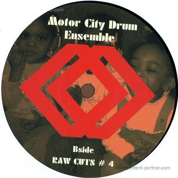 motor city drum ensemble - raw cuts 3 & 4 (repressed) (Back)