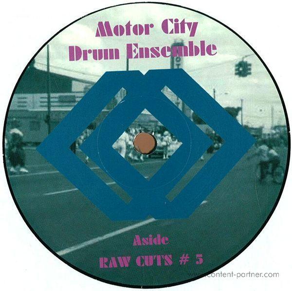 motor city drum ensemble - raw cuts 5 & 6 (repressed)