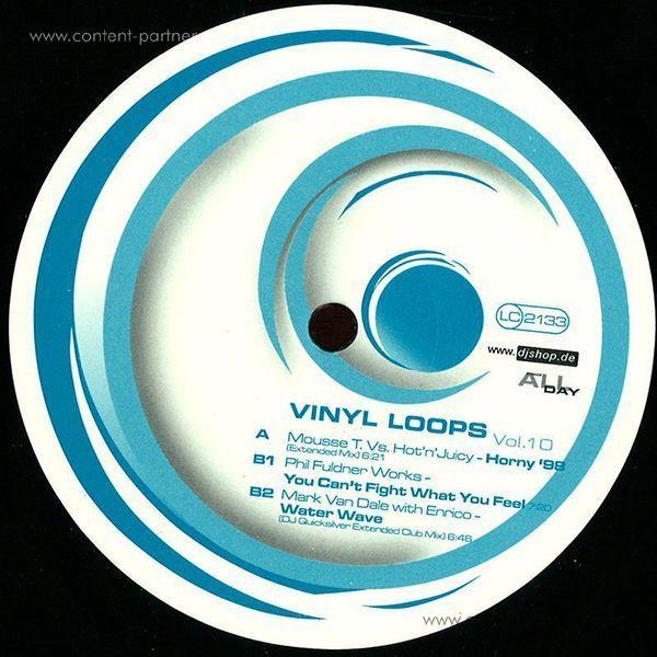 mousse t. vs. hot'n'juicy - horny '98 (vinyl loops 10)
