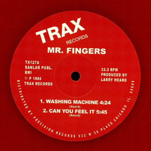 mr fingers - washing machine/can u feel (Red 2020 Repress)