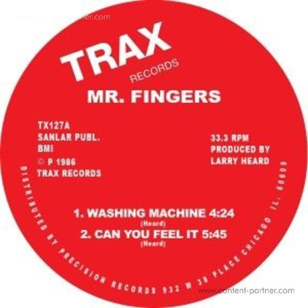 mr fingers - washing machine/can u feel