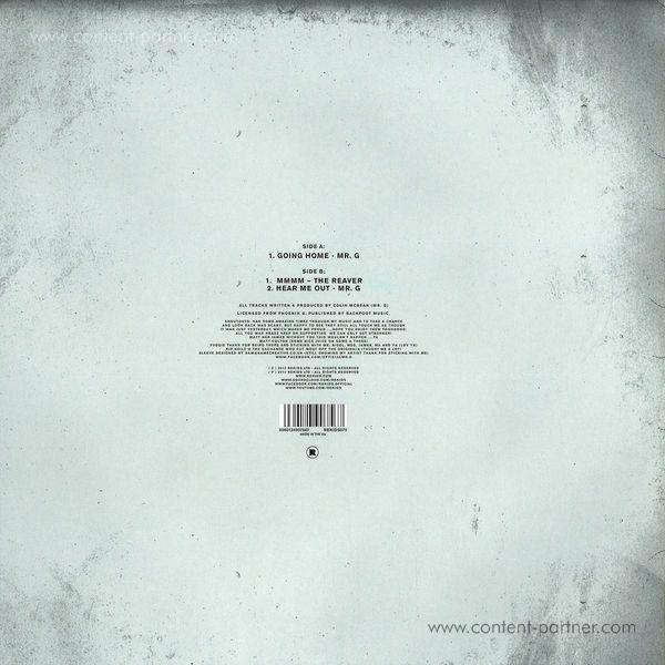 mr. g - retrospective sampler 2 (Back)