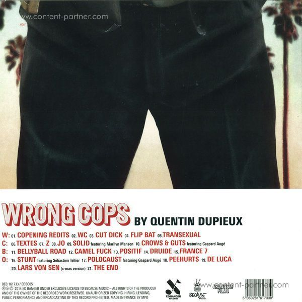 mr. oizo - wrong cops (Back)