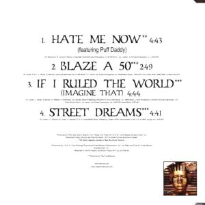 nas - hate me now (Back)