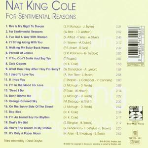 nat king cole - for sentimental reas (Back)