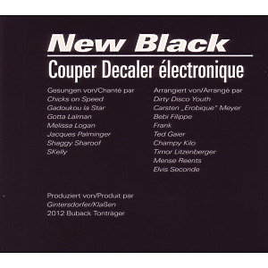 new black/various - coupe decaler electronique