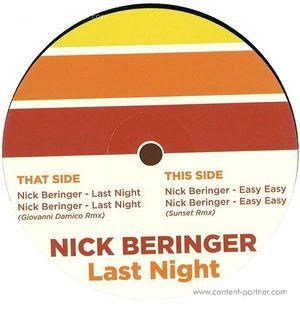 nick beringer - last night ep