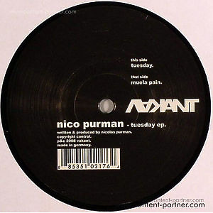 nico purman - tuesday (Back in!)