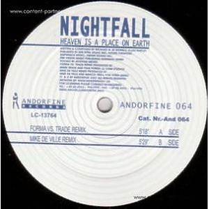 nightfall - heaven is a place on earth