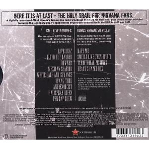nirvana - live on air (Back)