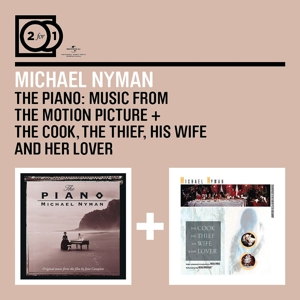 nyman,michael - 2 for 1: the piano:ost/the cook,the thie
