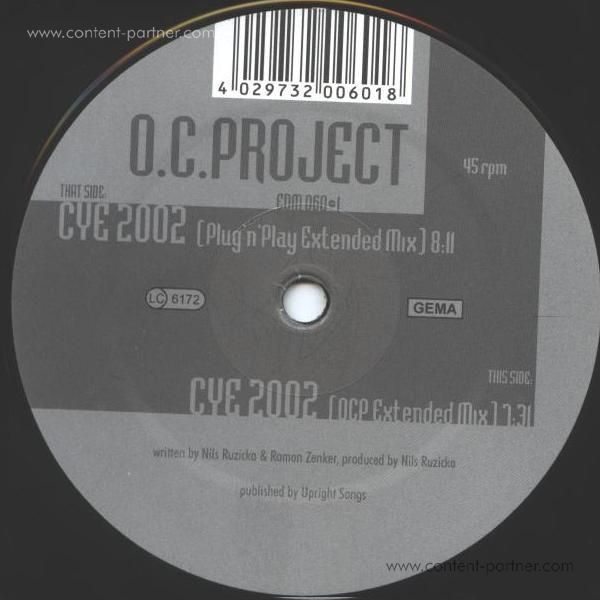 o.c.project - close your eyes 2002 (back in) (Back)