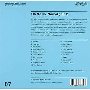 oh no - oh no vs. now again ii (Back)