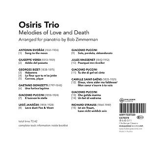 osiris trio - melodies of love and death-opera senza p (Back)