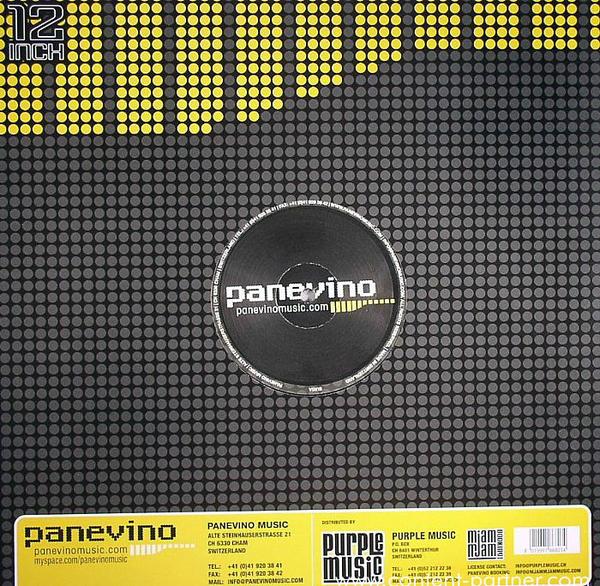 panevino & o-jam - contigo o sin ti (Back)