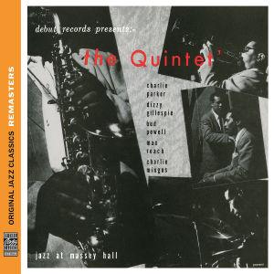 parker/gillespie/powell/roach/mingus - the quintet: jazz at massey hall (ojc re