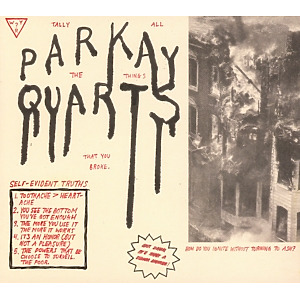 parquet courts - tally all things that you broke