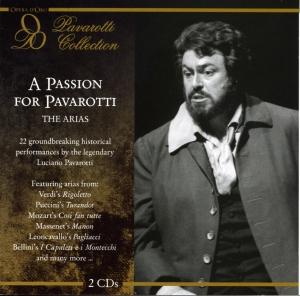pavarotti,luciano - a passion for pavarotti: the arias