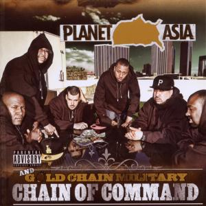 planet asia & gold chain military - chain of command