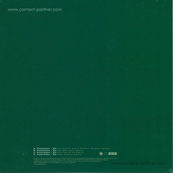 plastikman - ex [dixon, dubfire, tale of us, recondit (Back)