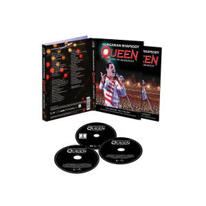 queen - hungarian rhapsody: live in budapest (cd