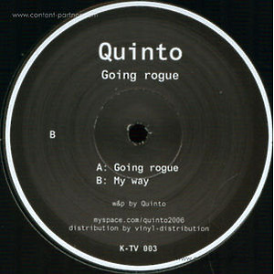 quinto - going rogue / my way (vinyl only)