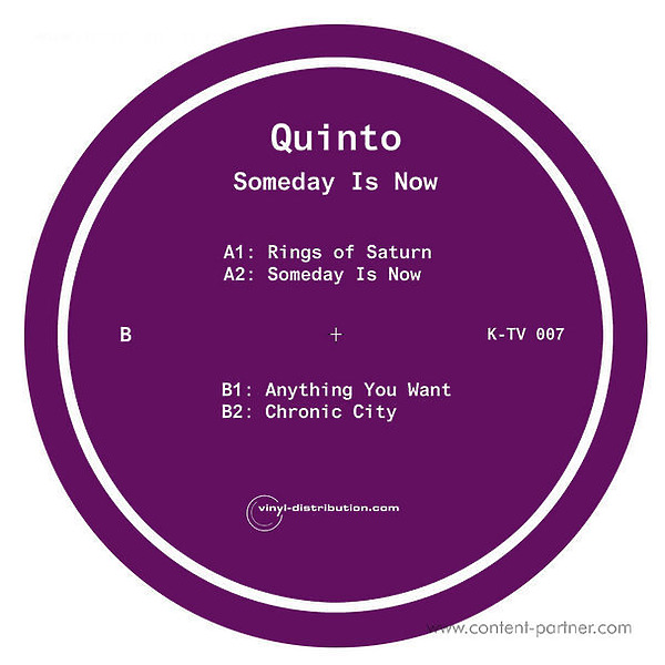 quinto - someday is now