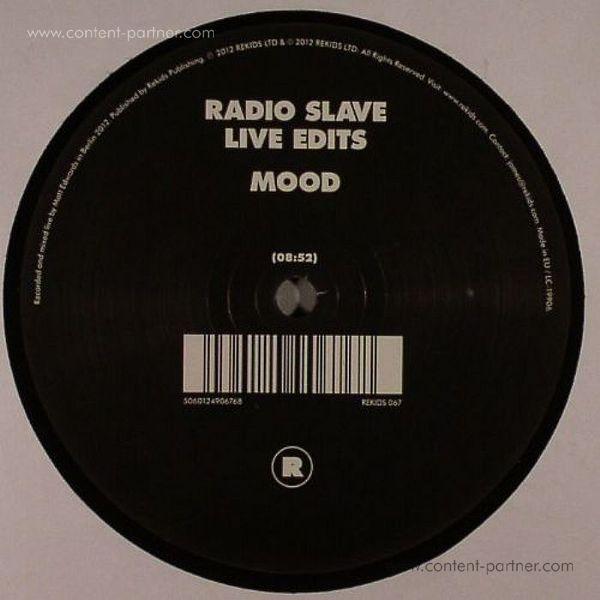 radio slave - live edits (Back)