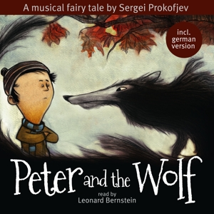read by leonard bernstein - peter and the wolf